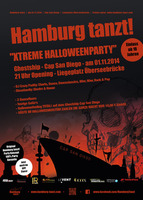 "Hamburg tanzt! ""Xtreme Halloweenparty"" - am Sa. 01.11.2014 in Hamburg (Hamburg)"
