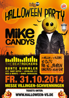 Halloween Party VS mit Mike Candys - am Fr. 31.10.2014 in Villingen-Schwenningen (Schwarzwald-Baar-Kreis)