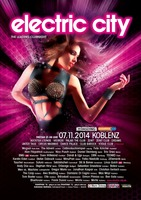 "electric city 2014 ""The Leading Clubnight"" in Koblenz - am Fr. 07.11.2014 in Koblenz (Koblenz)"