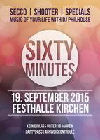 Sixty Minutes - Music of your life - am Sa. 19.09.2015 in Ehingen a.d. Donau (Alb-Donau-Kreis)