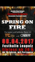 Spring on Fire am Samstag, 08.04.2017