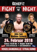 Benefiz Fight Night - Round IV - am Sa. 24.02.2018 in Stralsund (Vorpommern-Rügen)