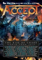 Accept: Night Demon - Support für Europatour 2018  am Sonntag, 14.01.2018