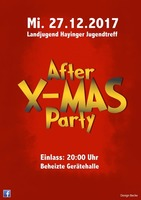 After X-Mas Party am Mittwoch, 27.12.2017