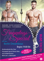 Daberkow Reloaded! - Frauentagsspecial mit den Berlin Dreamboys am Samstag, 10.03.2018