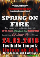 Spring on Fire am Samstag, 24.03.2018