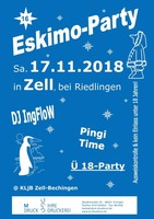 Eskimo-Party am Samstag, 17.11.2018