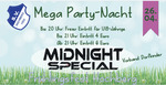 Mega Party Nacht mit Midnight Special 2019 - am Fr. 26.04.2019 in Bad Saulgau (Sigmaringen)
