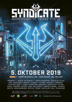"SYNDICATE 2019 - ""Ambassadors in Harder Styles"" am Samstag, 05.10.2019"